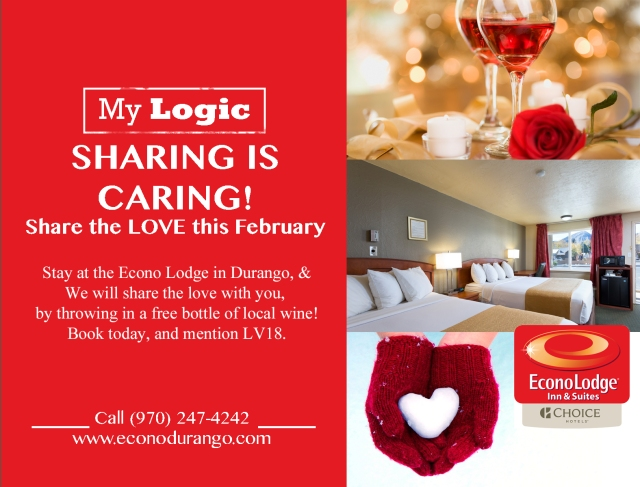 Valentines Package Durango Colorado