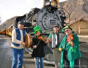 Durango train Shamrock Express